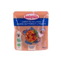Babybio Jó éjszakát! - Bio répás-sütőtökös polenta  190 g