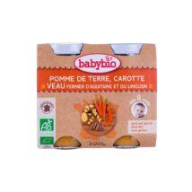 Babybio Bio zöldséges finomság borjúval 2 x 200 g