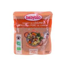 Babybio Bio zöldséges-sertéshúsos ragu 190 g