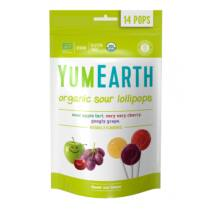 YumEarth Organikus savanykás nyalókák C-vitaminnal 14 db/csomag