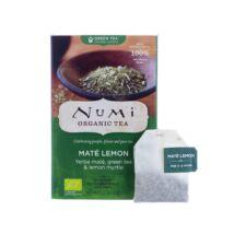 Numi Organic Tea Érzéki citromos maté - bio zöld tea 18 x 2,3 g