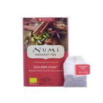 Numi Organic Tea Aranyló chai - indiai bio specialitás 18 x 2,6 g