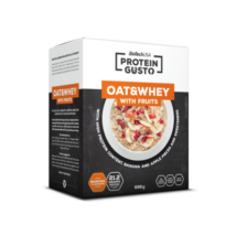 Protein Gusto - Oat & Whey with fruits - 696 g (fehérje)