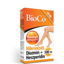 BIOCO MIKRONIZÁLT DIOZMIN+HESZPERIDIN 500MG 60DB