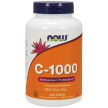 NOW C-VITAMIN 1000MG KAPSZULA 250DB