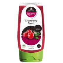Agava Bio  Vörösáfonya ízesítésű agávészirup 350 g