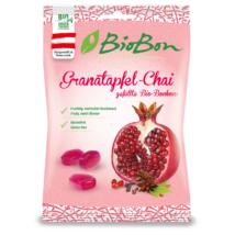 Biobon Gránátalmás-szegfűszeges Bio Töltött Cukorka 85 g