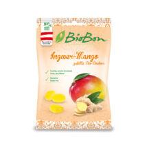Biobon Mangós- Gyömbéres Bio Töltött Cukorka 85 g