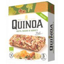 Quinoa Szelet Mogyorós, magvas és mézes ízben 5 darab