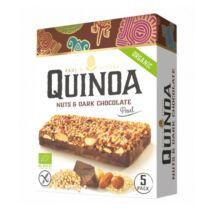 Quinoa Szelet Mogyorós és étcsokoládés ízben 5 darab