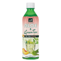 Tropical Aloe Vera Öszibarackos Zöldtea 500 ml