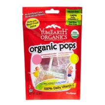 YumEartH Organics gyümölcs nyalókák 14 db-os