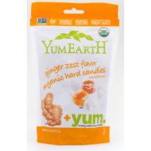 YumEarth Organics GYÖMBÉRES KEMÉNYCUKORKA 93,5 g