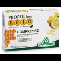 Specchiasol® E.P.I.D.® Mézes-citromos ízű Propolisz szopogatós tabletta + csipkebogyó és fekete ribizli kivonattal - 20db