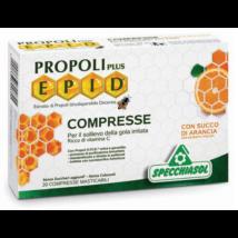 Specchiasol® E.P.I.D.® Narancsos ízű Propolisz szopogatós tabletta + csipkebogyó és fekete ribizli kivonattal - 20db