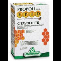 Specchiasol® E.P.I.D.® Propolisz + C szopogatós tabletta Extra - 20db