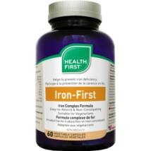 Iron First 34mg vas (60) kapszula Health First