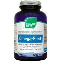 Omega-First 830mg halolaj kapsz (60) Health First