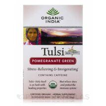 POMEGRANATE GREEN FILTERES TEA (18) BIO TULSI