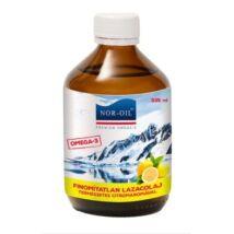 Szűz lazacolaj citromos 335ml Nor-Oil