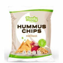 HUMMUS CHIPS CÉKLÁVAL 50G FOODY FREE
