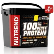 NUTREND 100% WHEY PROTEIN 4 KG - STRAWBERRY
