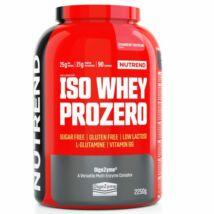 NUTREND ISO WHEY PROZERO 2250 G - STRAWBERRY CHEESECAKE