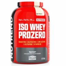 NUTREND ISO WHEY PROZERO 2250 G - WHITE CHOCOLATE
