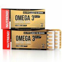 Nutrend Omega 3 Plus Softgel Caps - 120 db kapszula