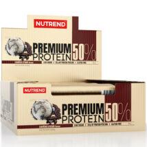 NUTREND PREMIUM PROTEIN 50% 16DBX50G - COOKIES CREAM