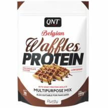 QNT Belgian Waffles protein 480g - Milk chocolate
