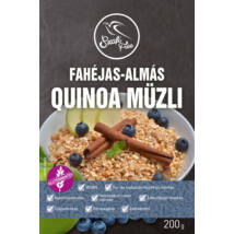 Szafi Free Fahéjas-almás quinoa müzli ( gluténmentes )200g