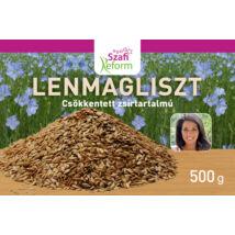 SZAFI REFORM LENMAGLISZT (CSÖKKENTETT ZSÍRTARTALMÚ, GLUTÉNMENTES) 500G