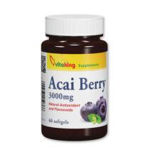 Acai Berry-Vitaking 3000mg (60 db ) gélkapszula