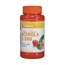 C-500mg Acerola EPRES-Vitaking rágótabletta 40 db
