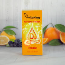 D3 VITAMIN CSEPP-VITAKING  10 ML
