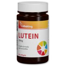 Lutein 20mg-Vitaking gélkapszula 60 db