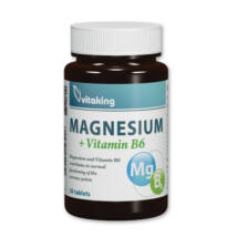 Magnézium Citrát  + B6-vitamin-Vitaking tabletta 30 db
