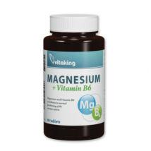 Magnézium Citrát + B6-vitamin-Vitaking tabletta 90 db