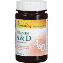 A&D vitamin -Vitaking  (60 db) gélkapszula