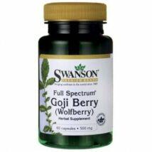 Swanson Goji Berry 500mg (60 db) kapszula