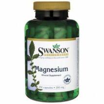 Magnézium 200mg -Swanson (250 db ) kapszula
