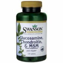 Swanson Glükosamin-Kondroitin & Msm (120 db) tabletta