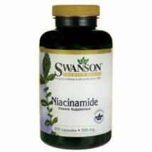 B3-Niacinamid 500mg-Swanson kapszula 250 db