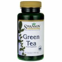 Swanson Zöld tea kivonat. 500mg (100 db) kapszula