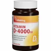 D3-Vitamin 4000 NE-Vitaking kapszula 90 db