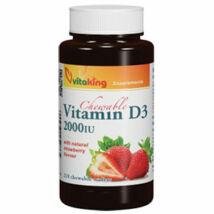 D3- vitamin -2000 NE (210) epres rágótabletta