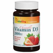D3-vitamin 2000 NE  epres rágótabletta 90 db