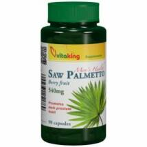 Saw Palmetto-Fűrészpálma-Vitaking  540mg (90db ) kapszula