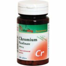 Króm pikolinát 200mcg-Vitaking  (100 db ) tabletta